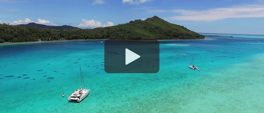 Sail in luxury in French Polynesia